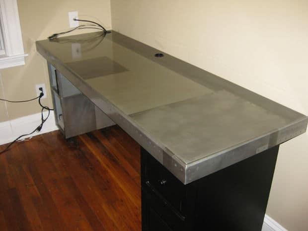 The Faux Metal Desk Design