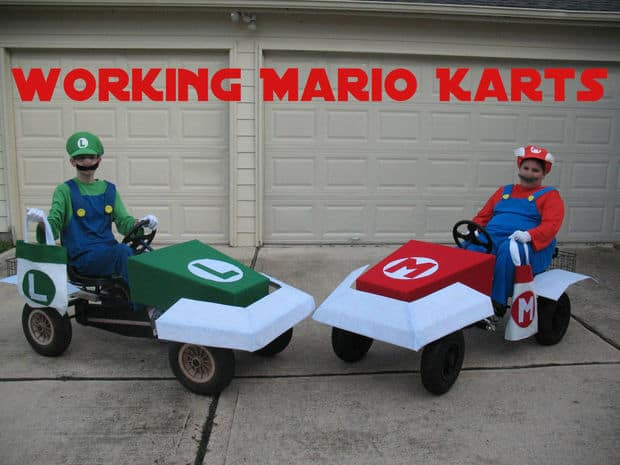 The Mario Kart and Luigi Go KartProject