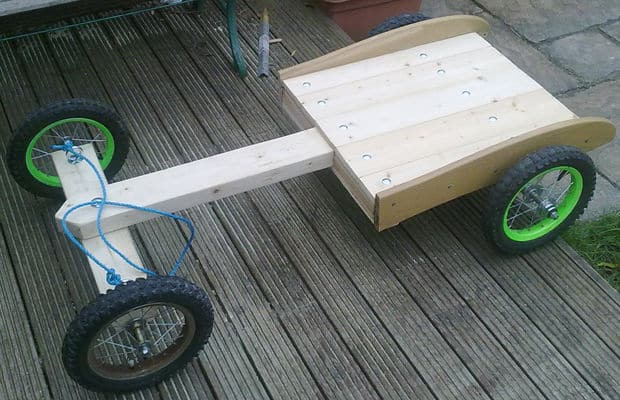 The Old Fashioned Bogie Kart Idea