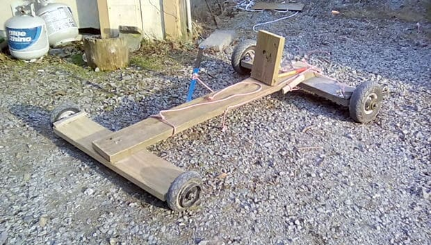 The Simple Off Road Go KartBuild