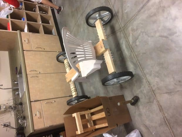 The Simple Wooden Off Road Go-Kart Idea