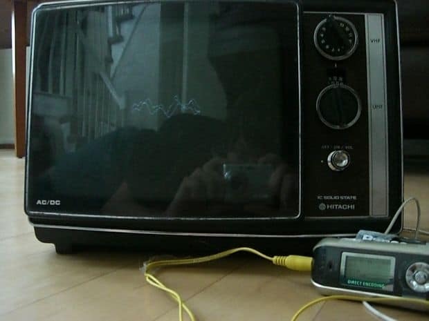 The Upcycled CRT TV Oscilloscope Project