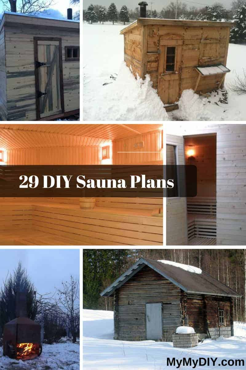 Backyard Sauna Plans 29 crazy diy sauna plans [ranked] - mymydiy | inspiring diy projects