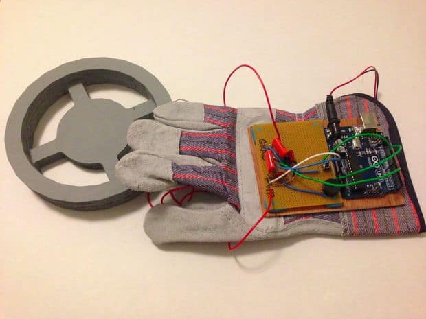The Arduino Glove Metal Detector Build
