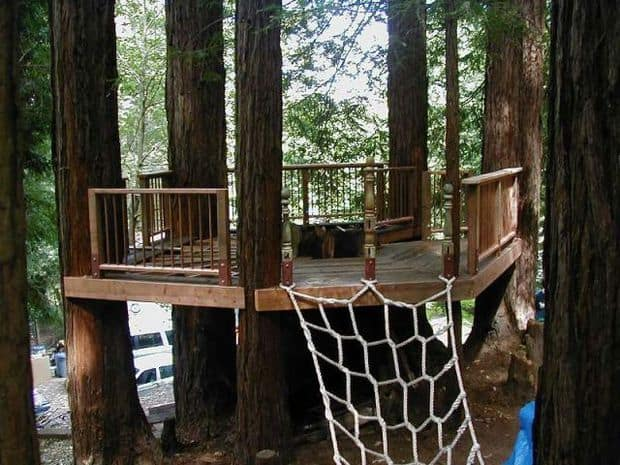 38 Brilliant Tree House Plans - MyMyDIY | Inspiring DIY Projects