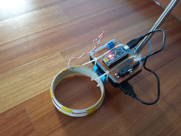 The Simple Outdoor Arduino Metal Detector Blueprint