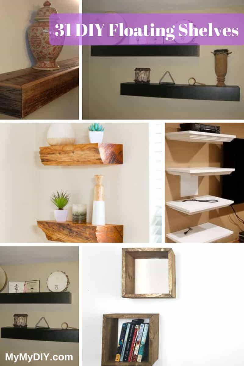 31 Floating Shelf Plans [Ranked] - MyMyDIY | Inspiring DIY