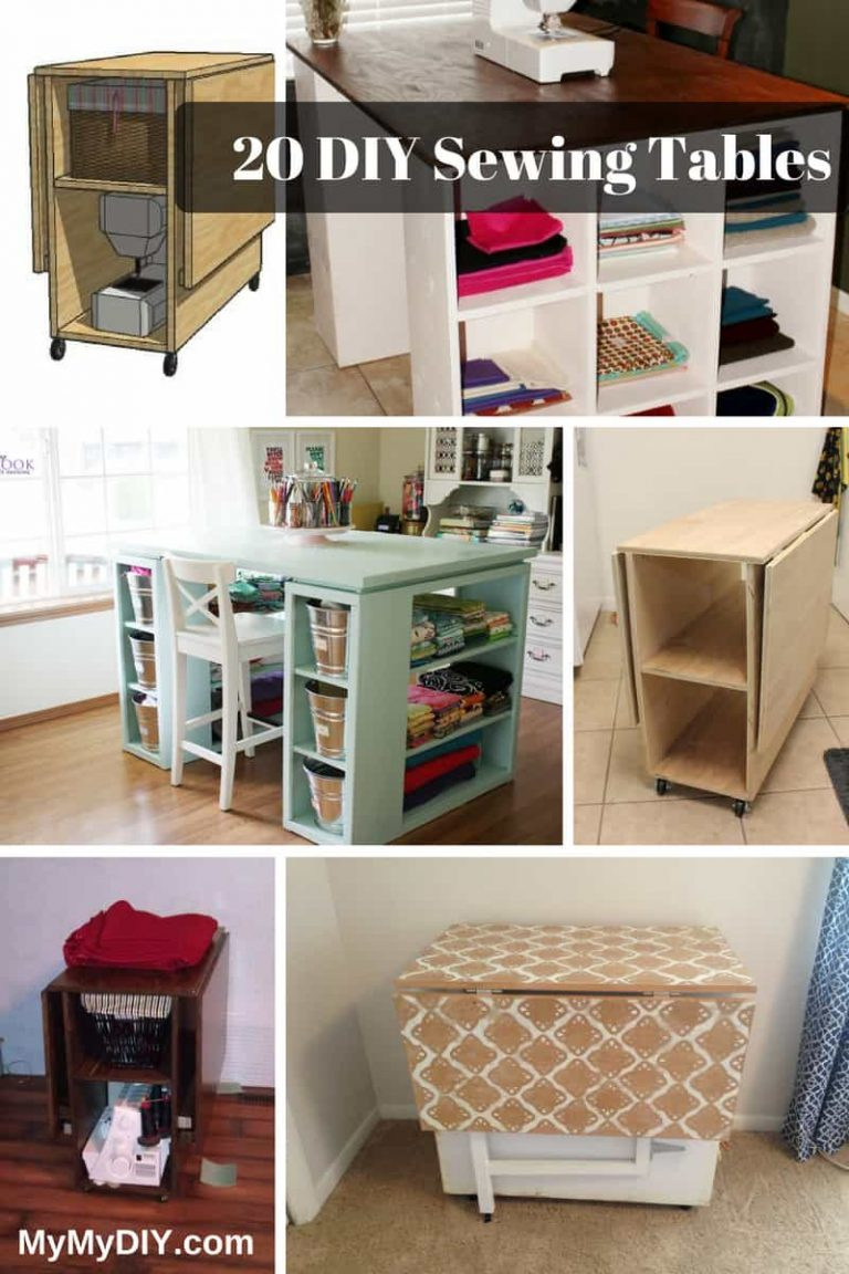 Sewing Table Woodworking Plans
