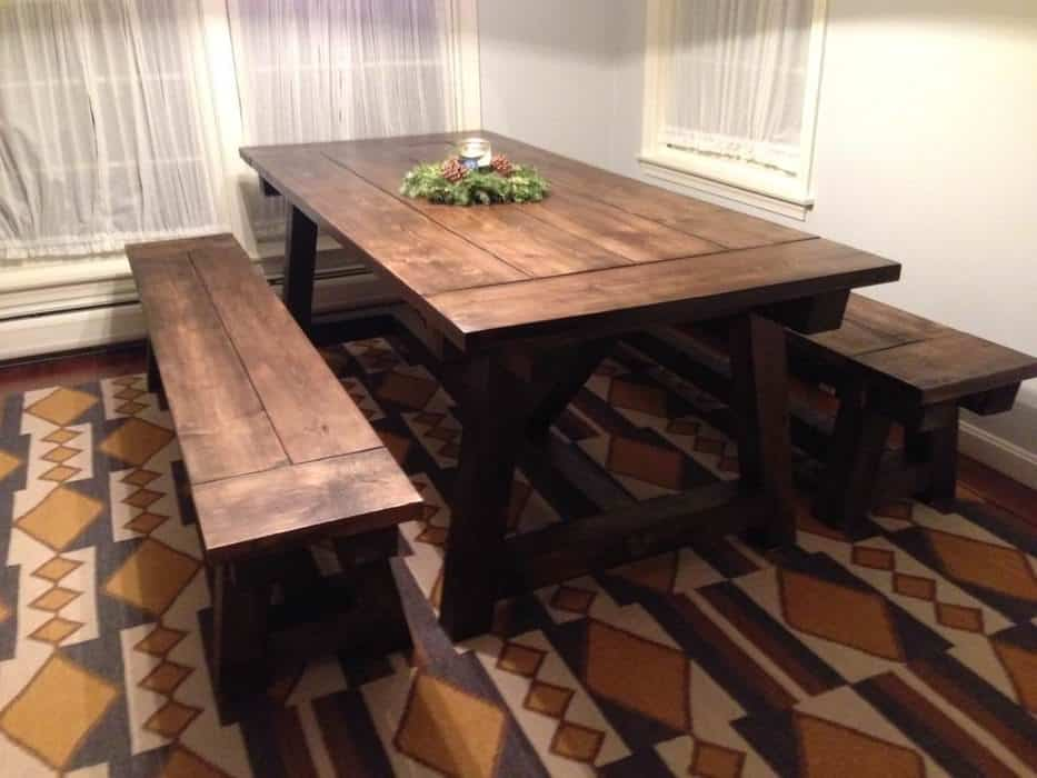 19 diy farmhouse tables