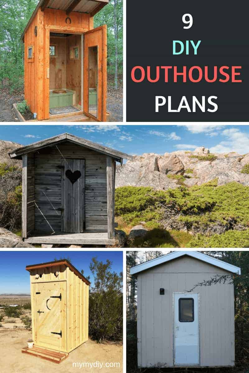 9 DIY outhouse plans