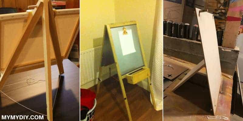 9 Simple DIY Easel Projects [Free Plans] - MyMyDIY | Inspiring DIY ...