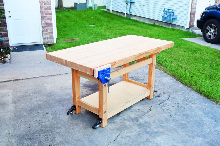 diy workbench list