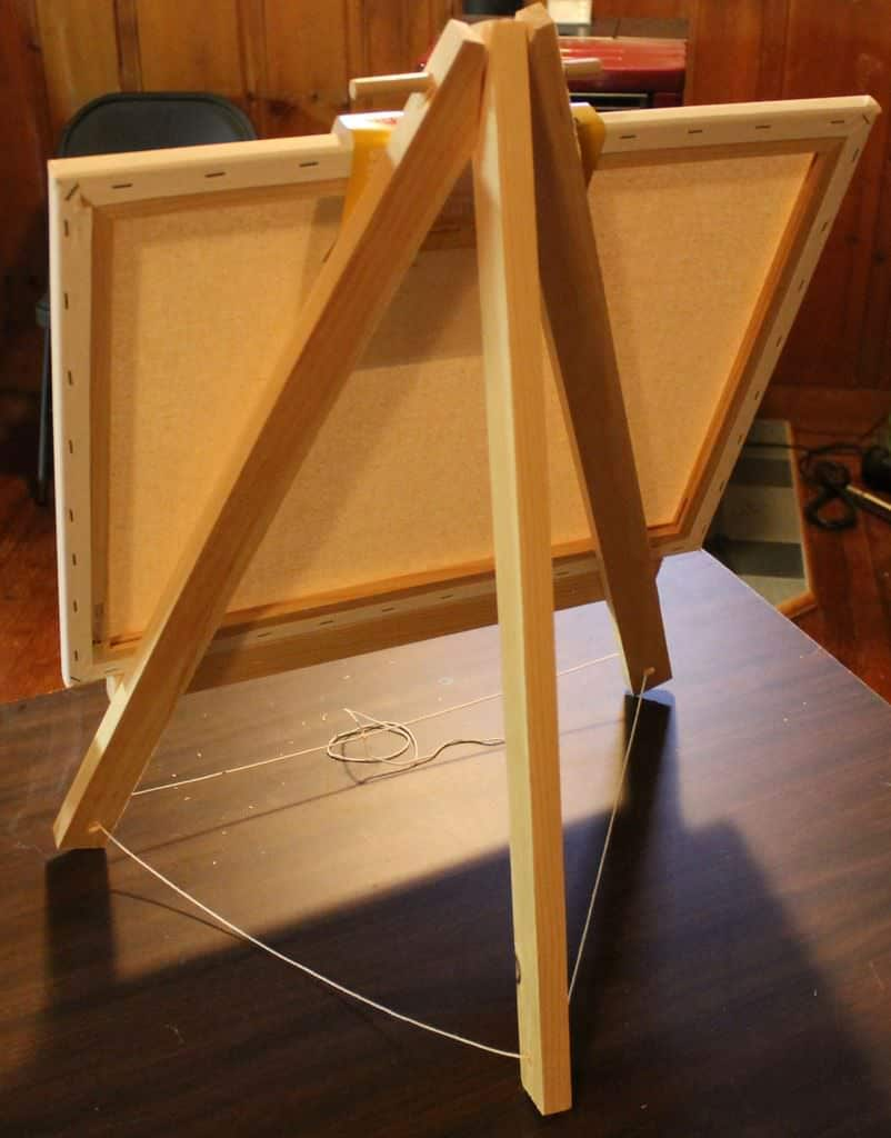 diy easel project plans