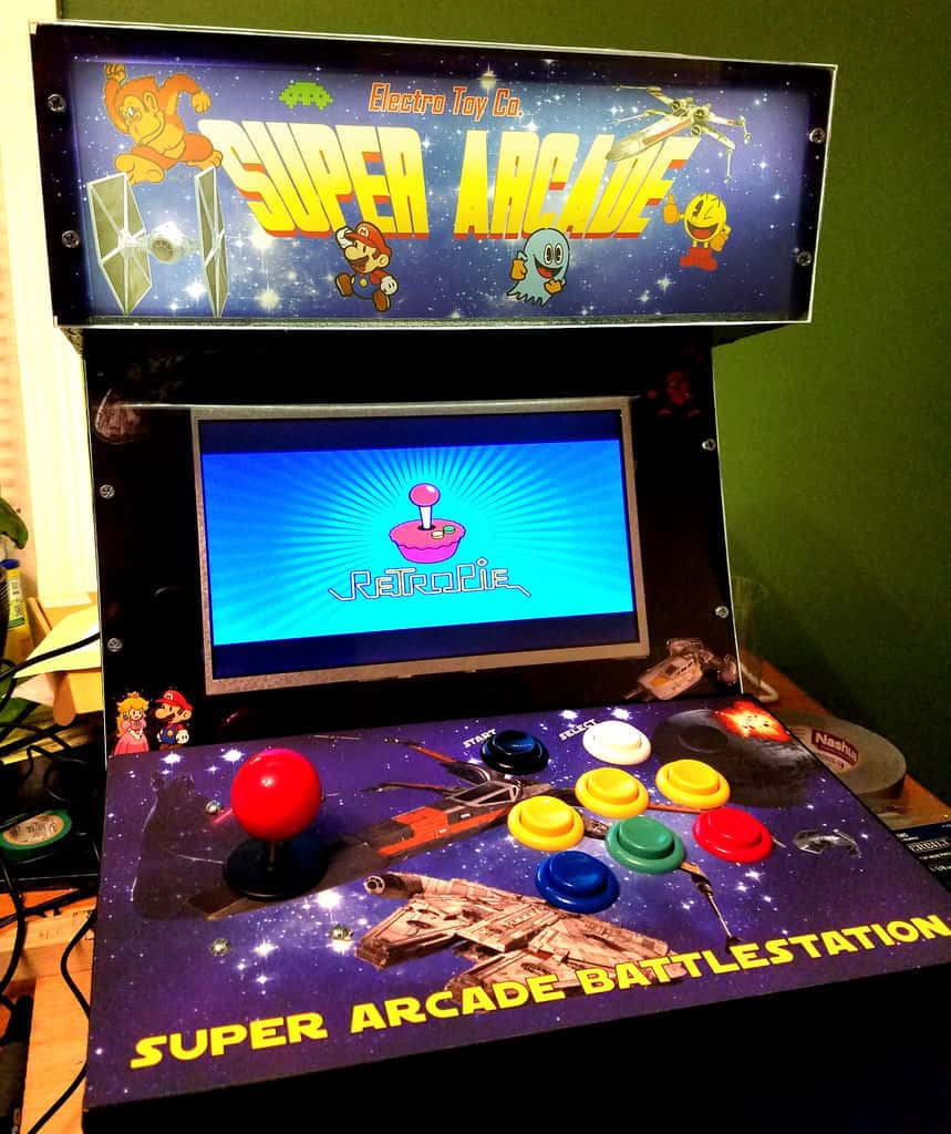 do it yourself arcade cabinet plans
