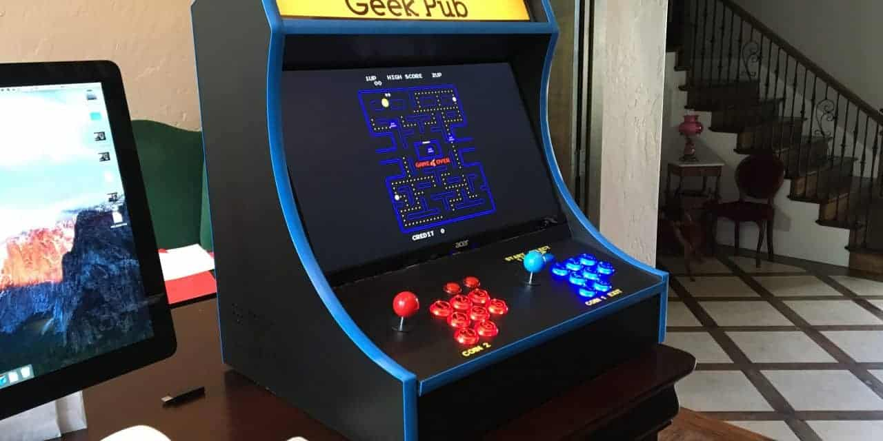 retropie DIY arcade cabinet