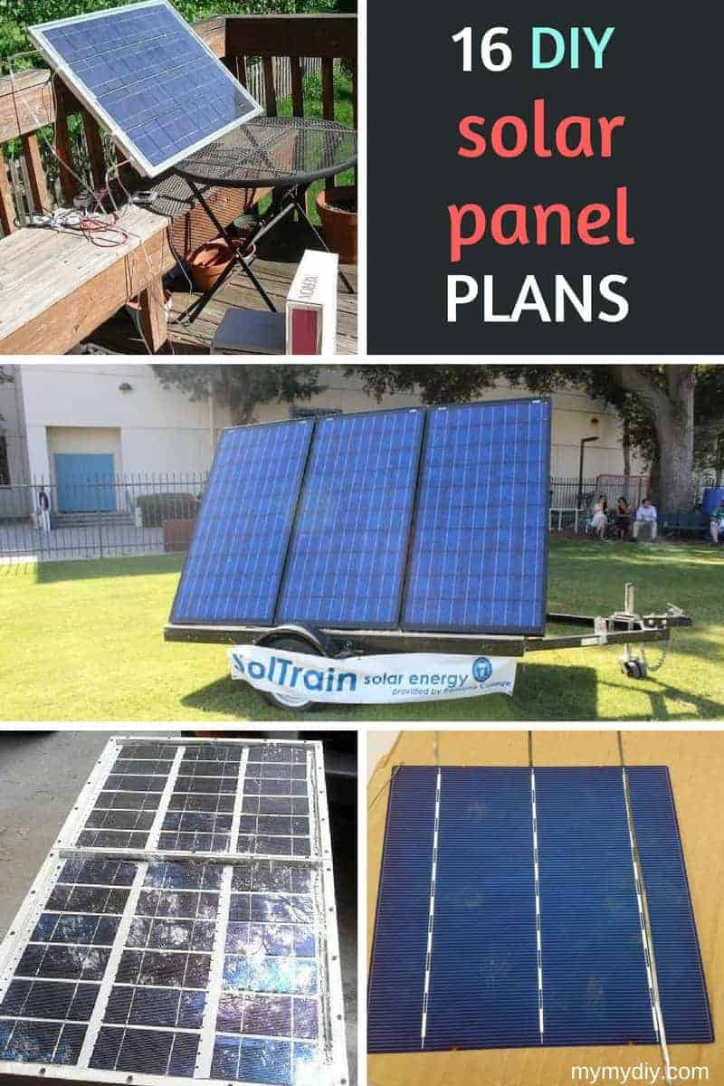 16 Clever Diy Solar Panel Plans Free Blueprints Mymydiy Visit Page Of Charger Circuit