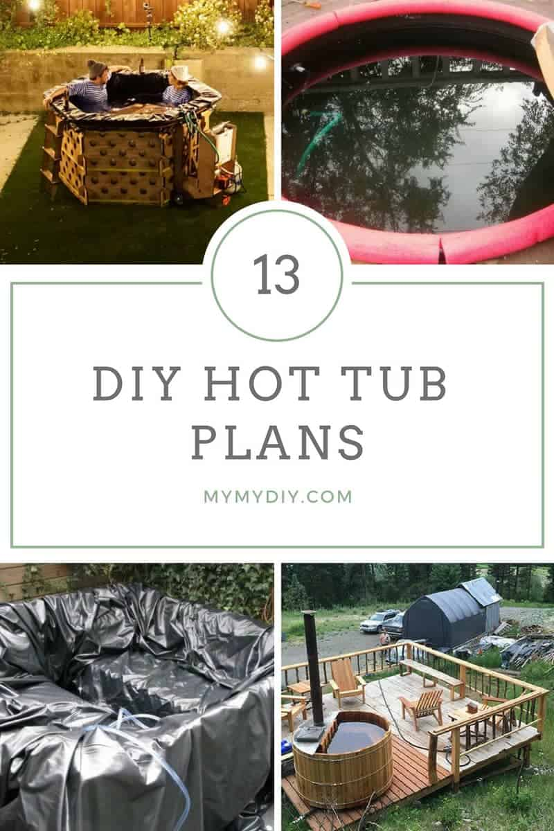 diy hot tub plans