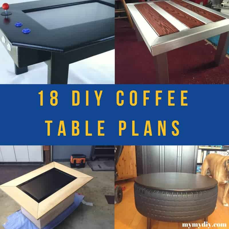 Stupendous 18 Surprising Diy Coffee Table Plans List Mymydiy Machost Co Dining Chair Design Ideas Machostcouk
