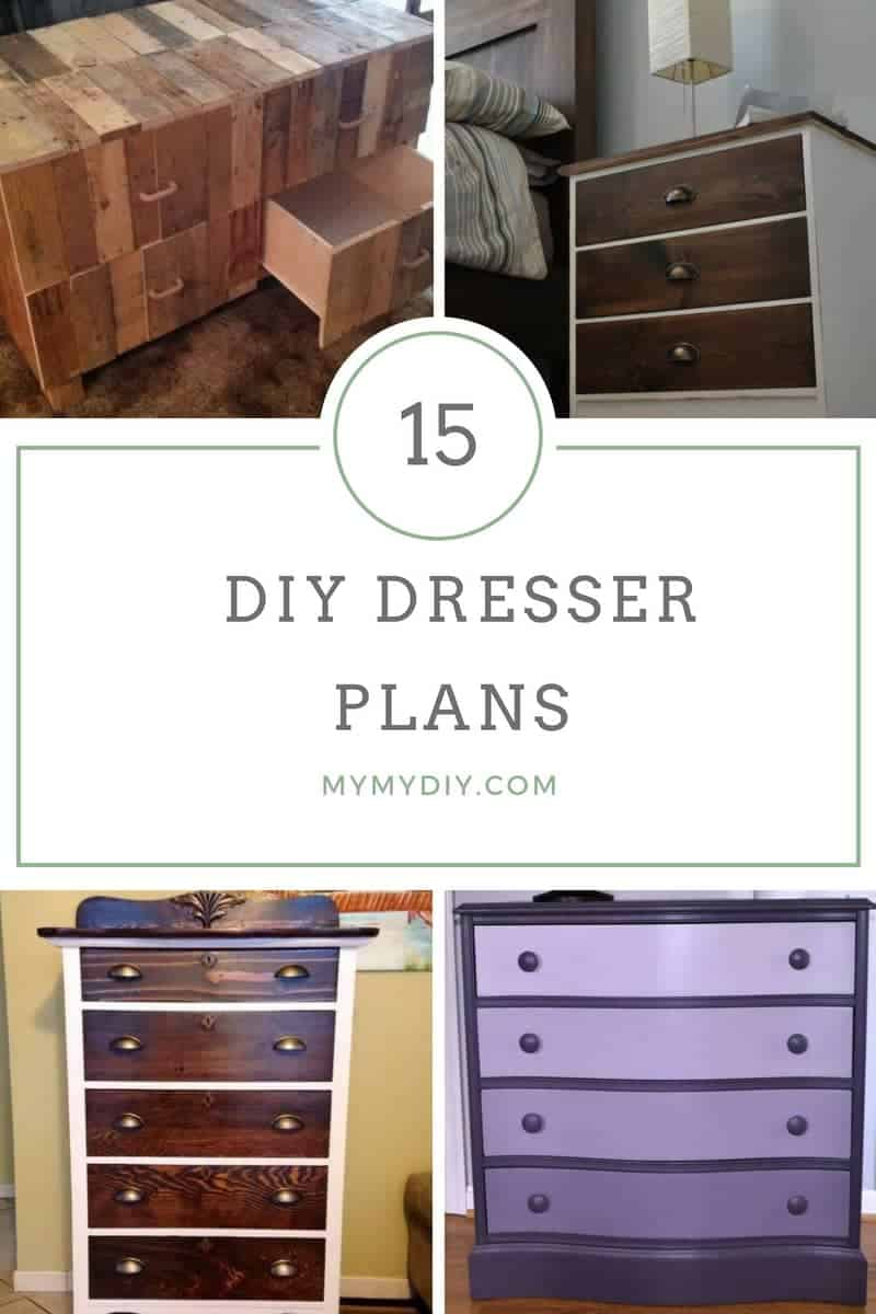 15 Sturdy Diy Dresser Plans List Mymydiy Inspiring Diy Projects