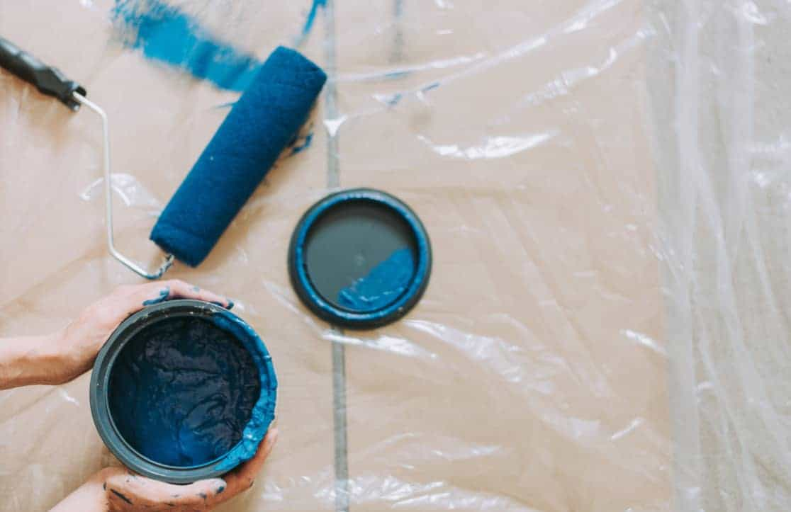 How and When to Paint Over Wallpaper
