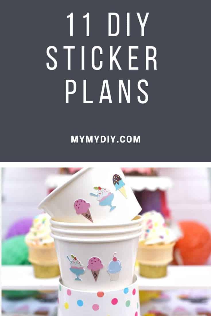 Diy sticker plans