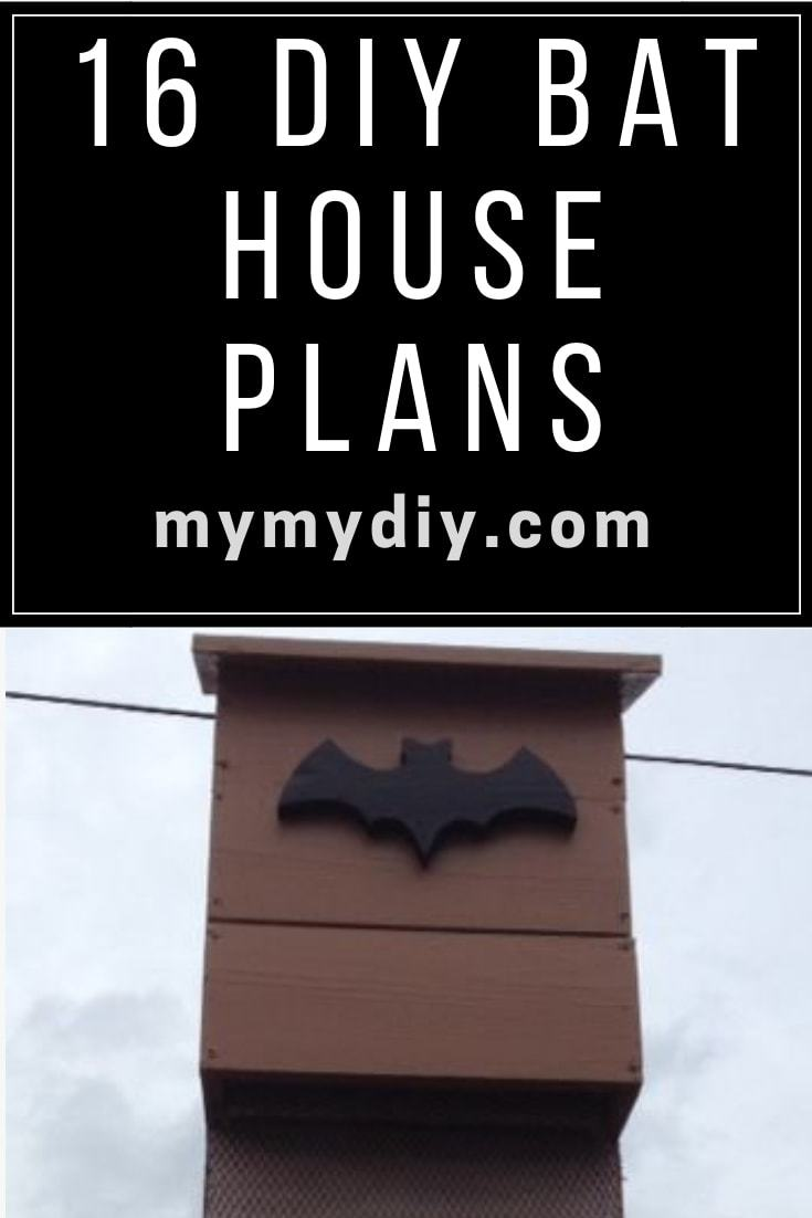 Diy Bat House Plans