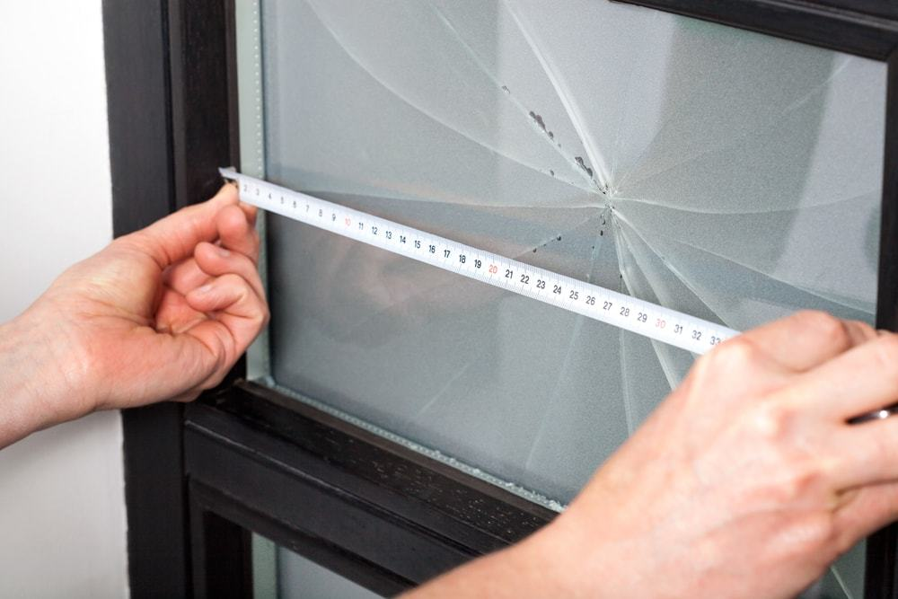 replacing a broken window