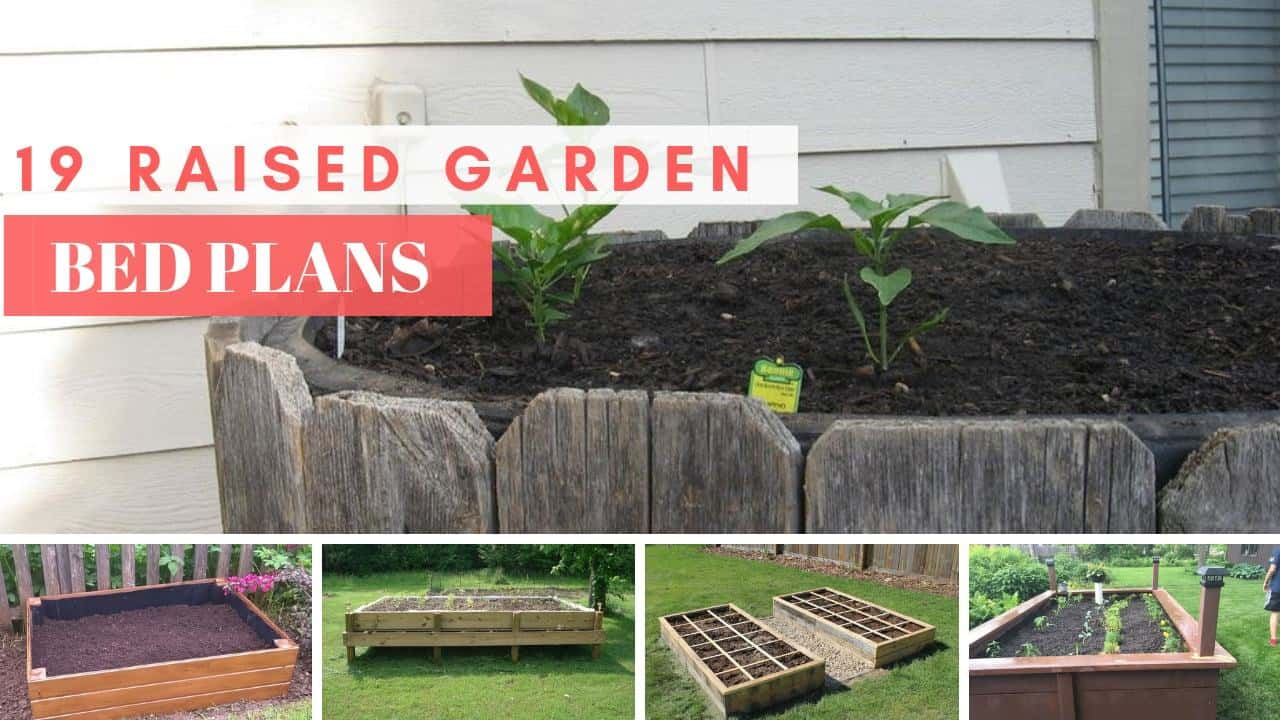 19+ Raised Garden Bed Plans | Free Outdoor DIY - MyMyDIY ...