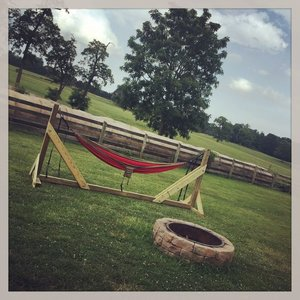 13+ DIY Hammock Stand Plans | Free List With Pics