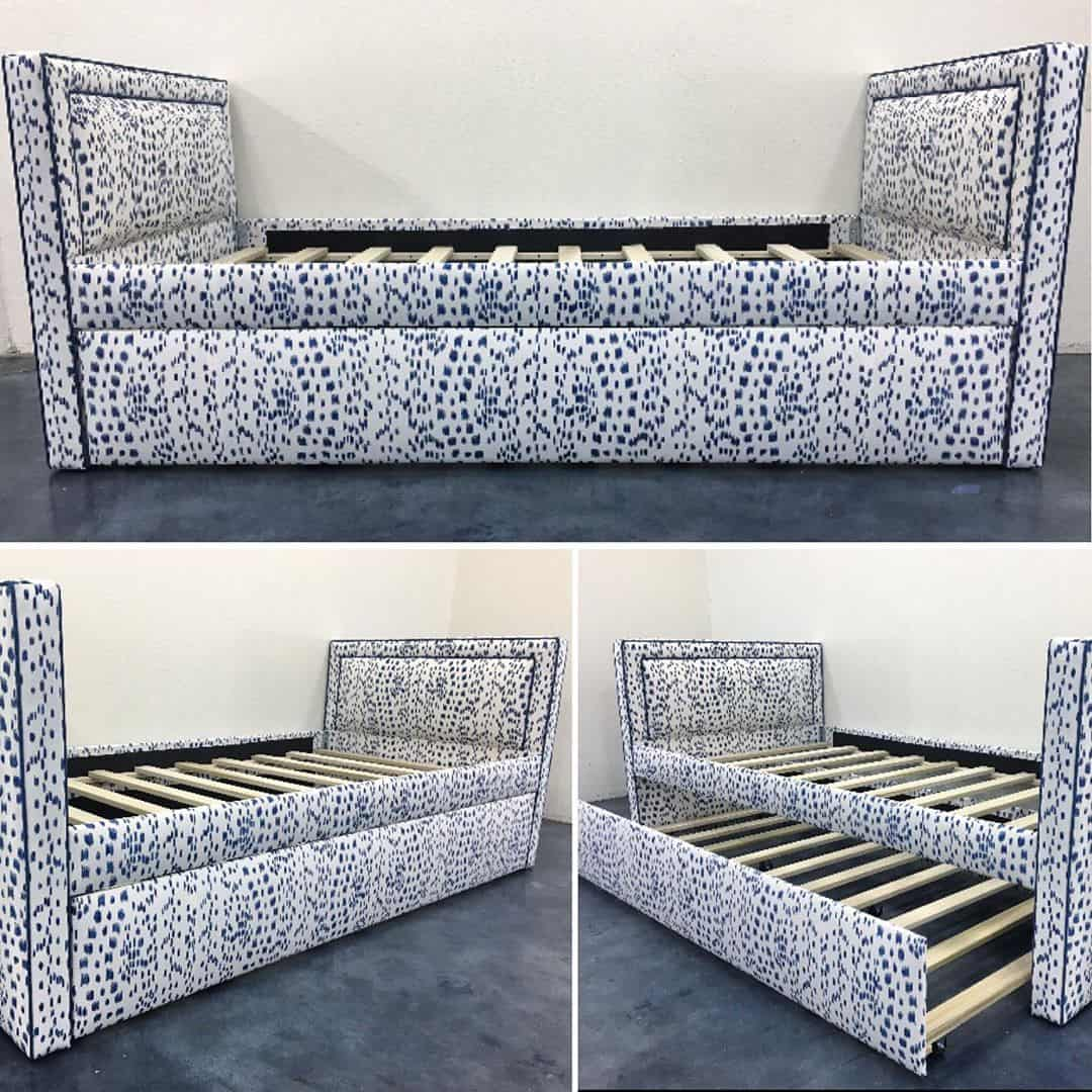 Les Touches trundle bed