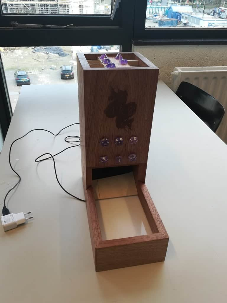 Arduino Automatic Dice Tower