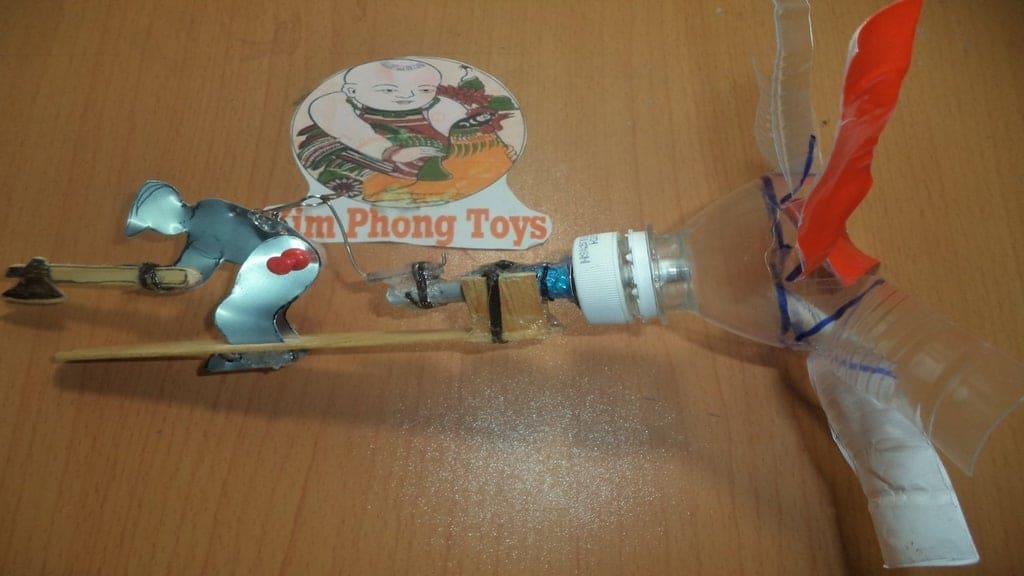 Bottle Whirligig Toy