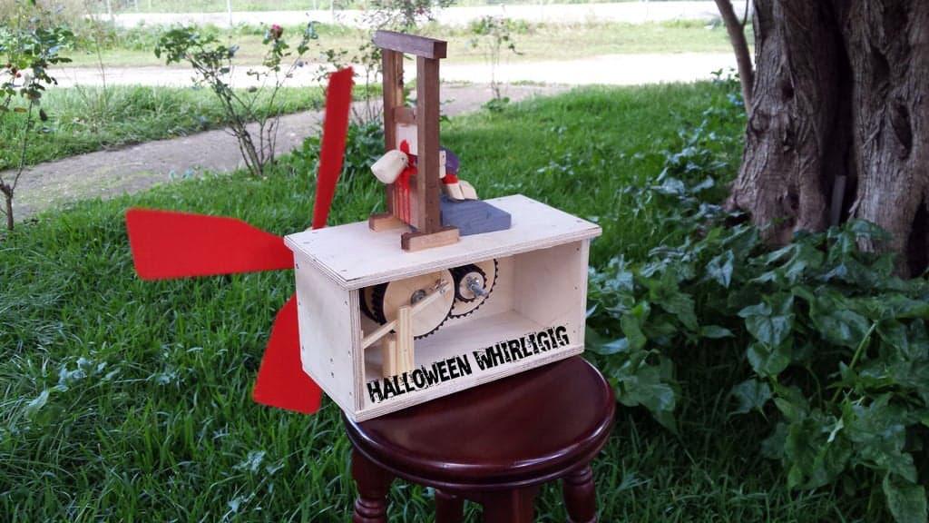 Halloween Themed Whirligig