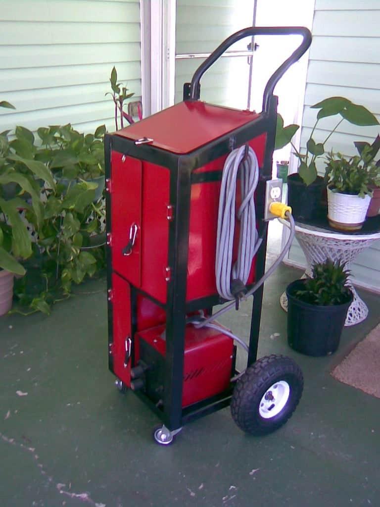My Custom Welding Cart