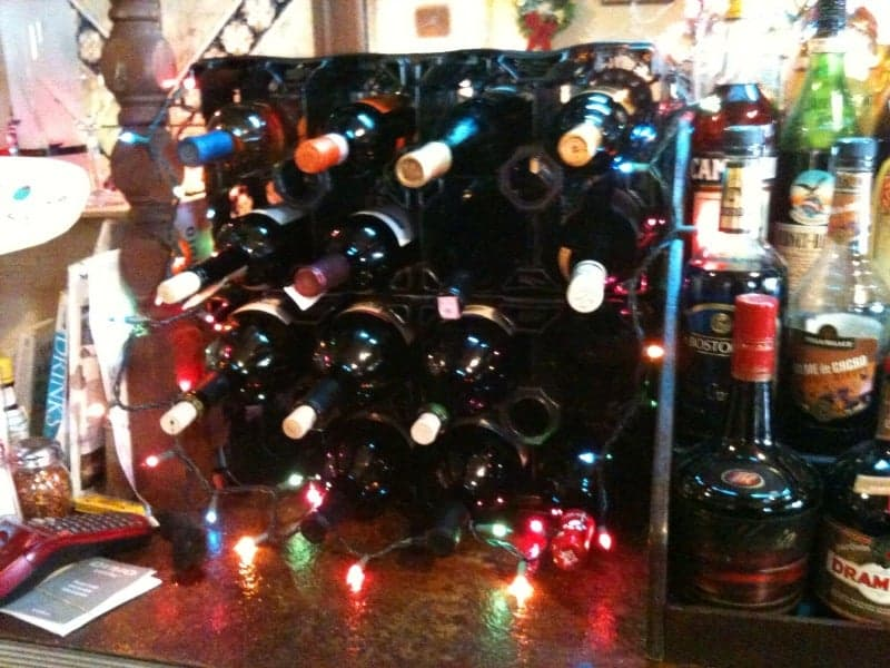 Plastic Wine Rack