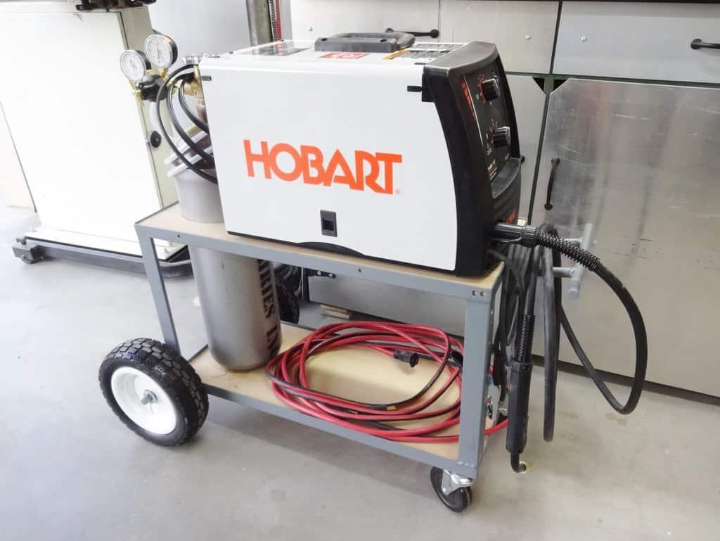 Simple Welding Cart