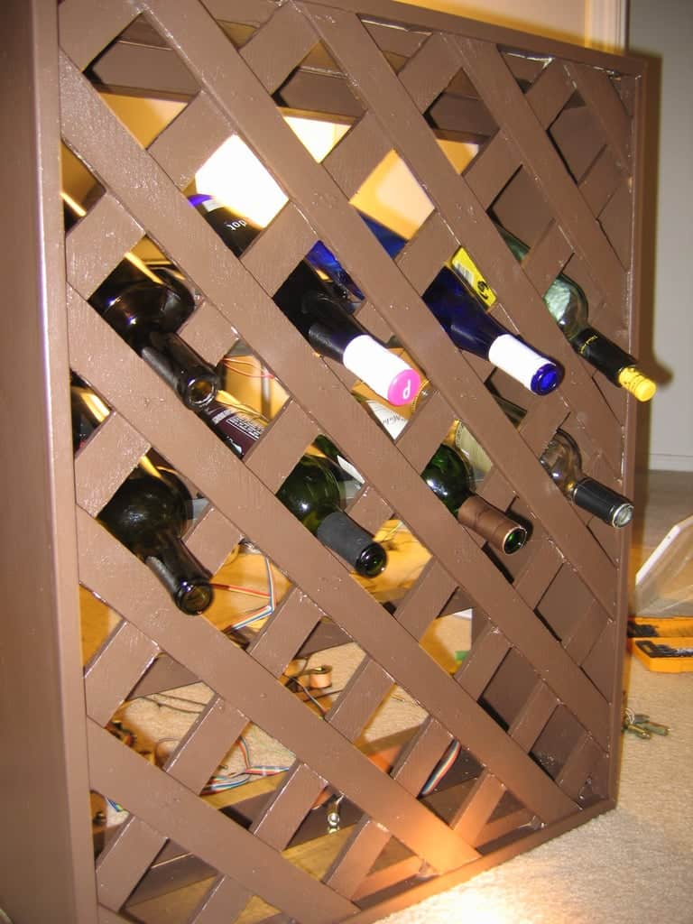 Solenoid Wine Rack