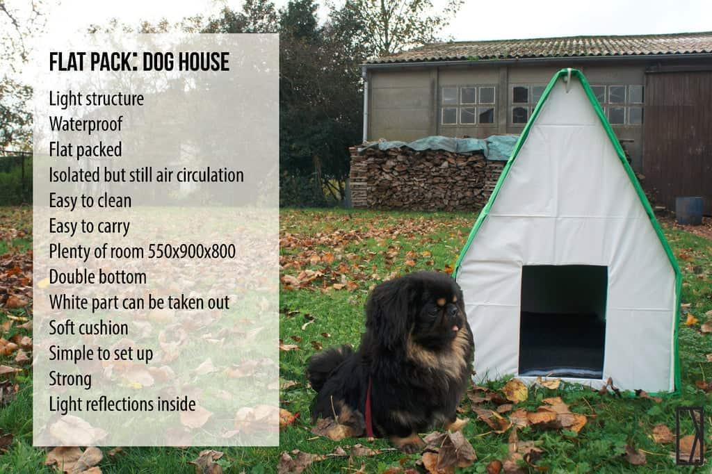 Flat Pack Dog House small medium