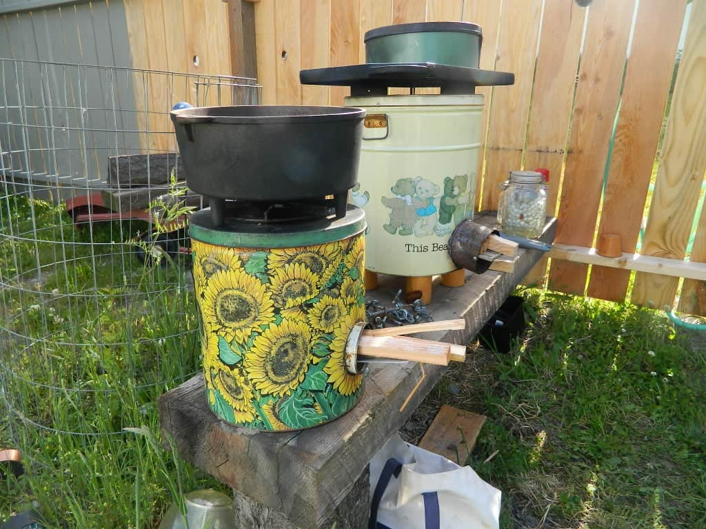 Rocket Stoves for the Homestead.