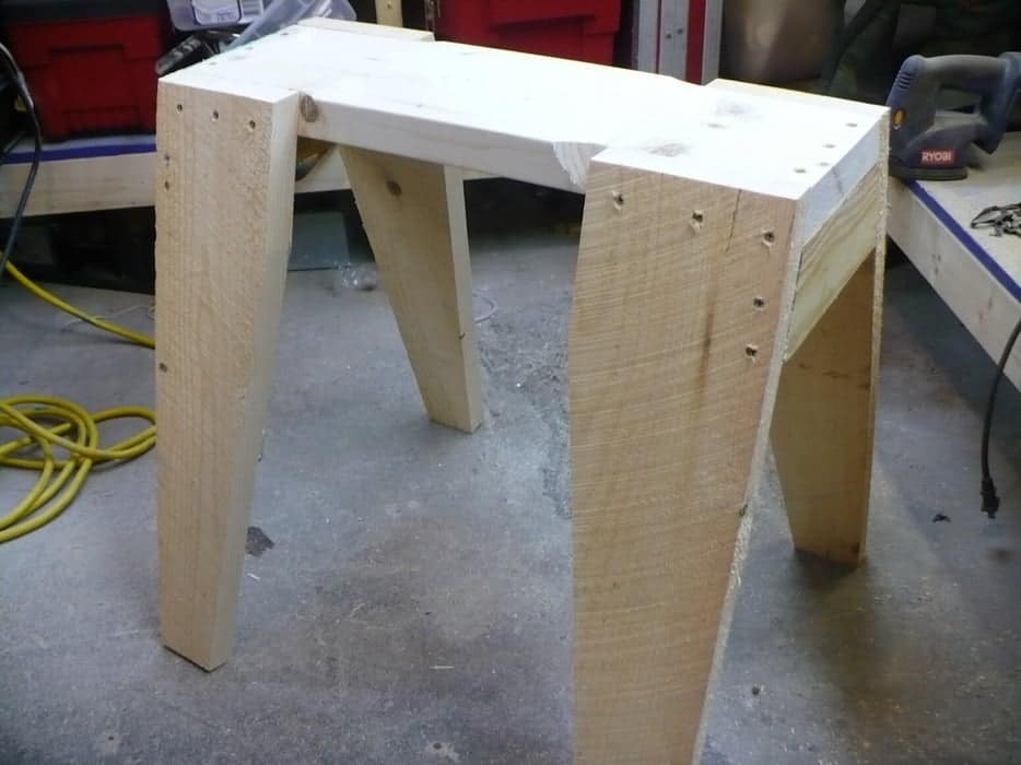 The Simple Saw Horse