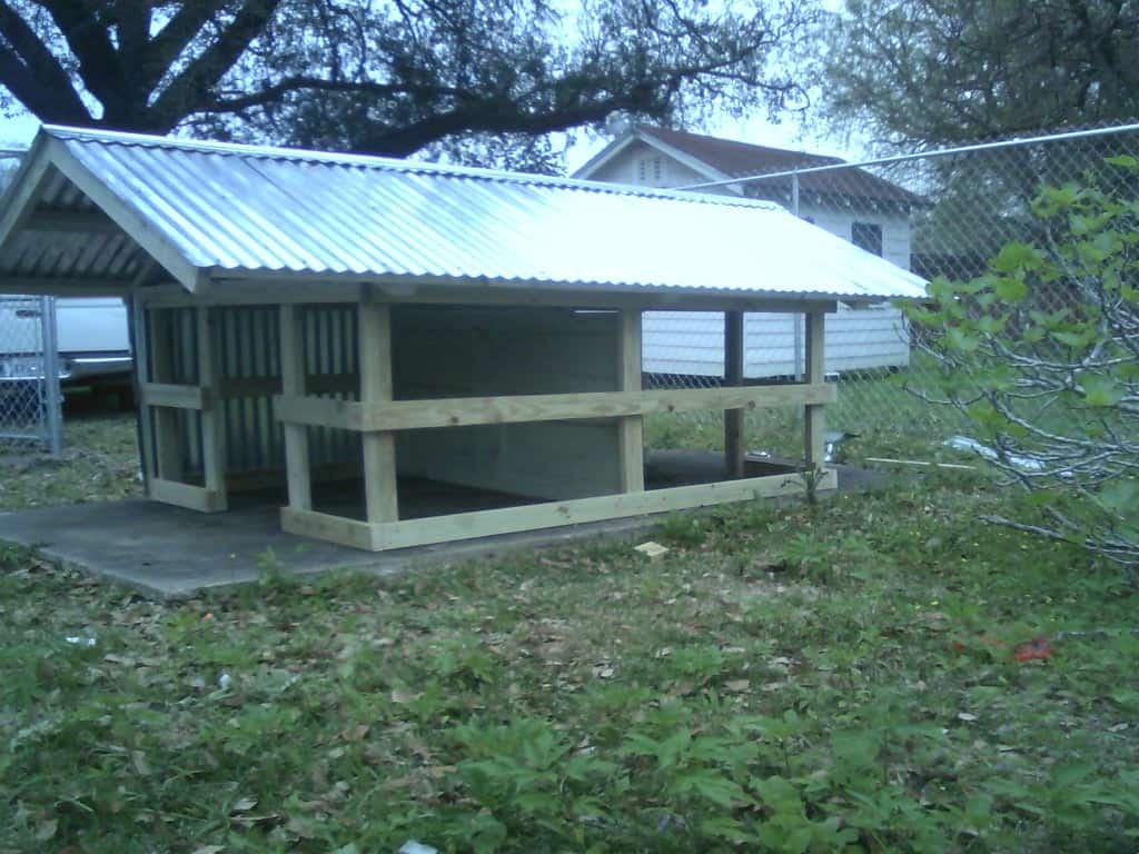 Very Sturdy Duplex Dog House for Under $300