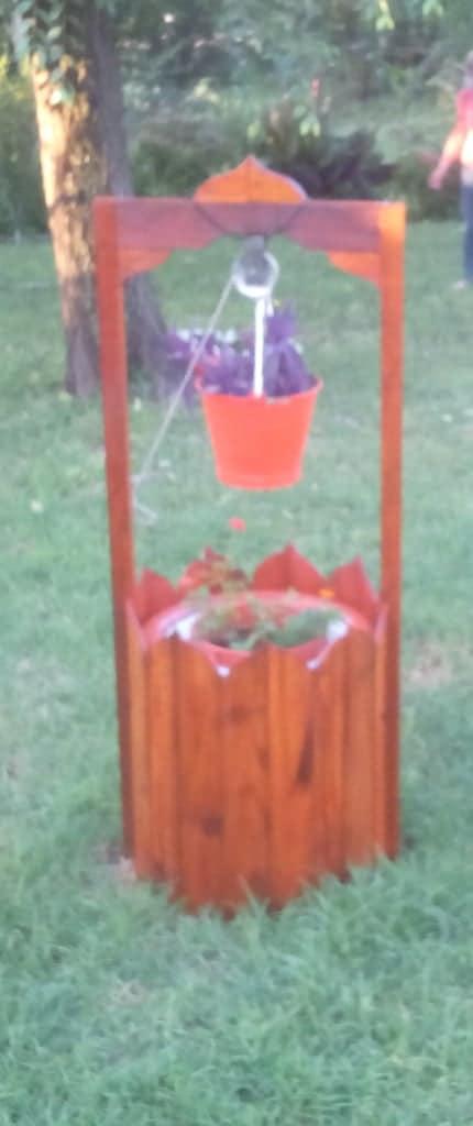 Wishing Well Planter or Aljibe