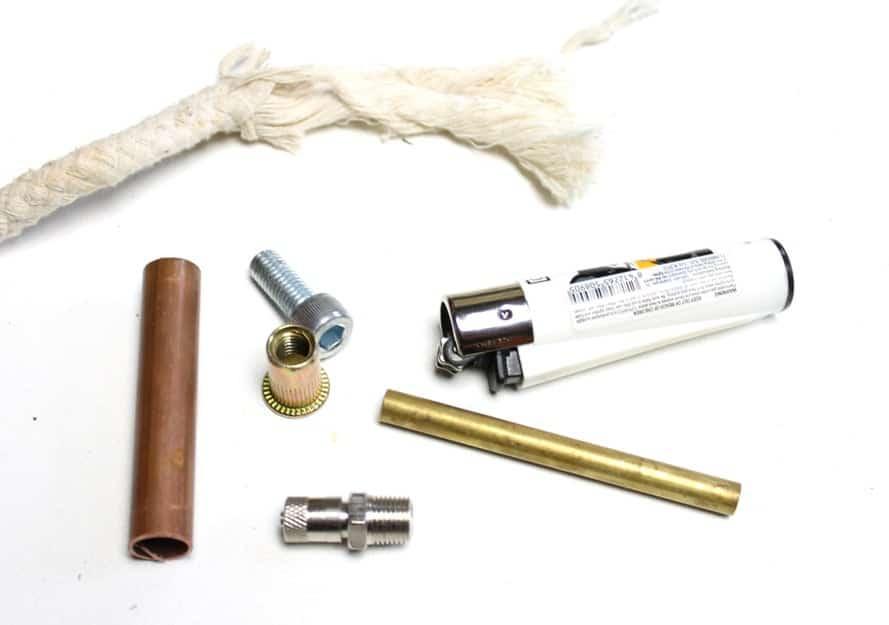 diy lighter necessary parts