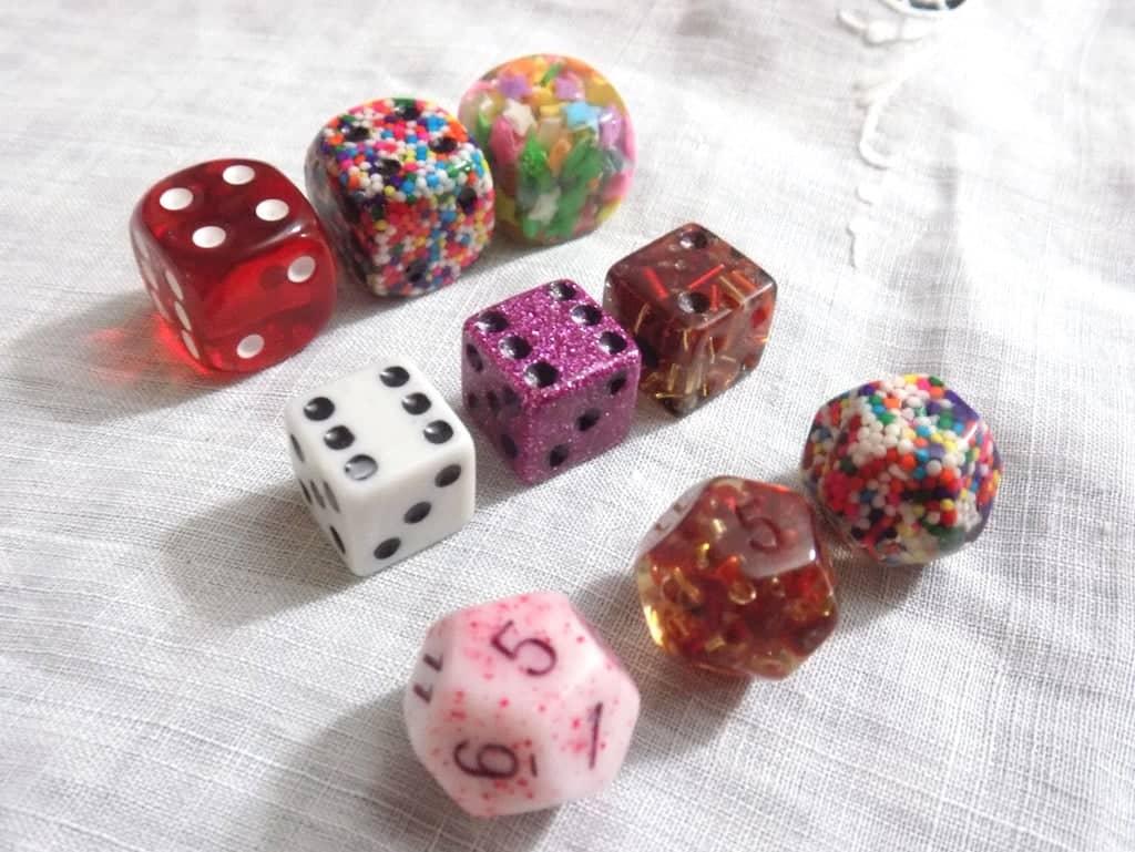 tabletop dice plan