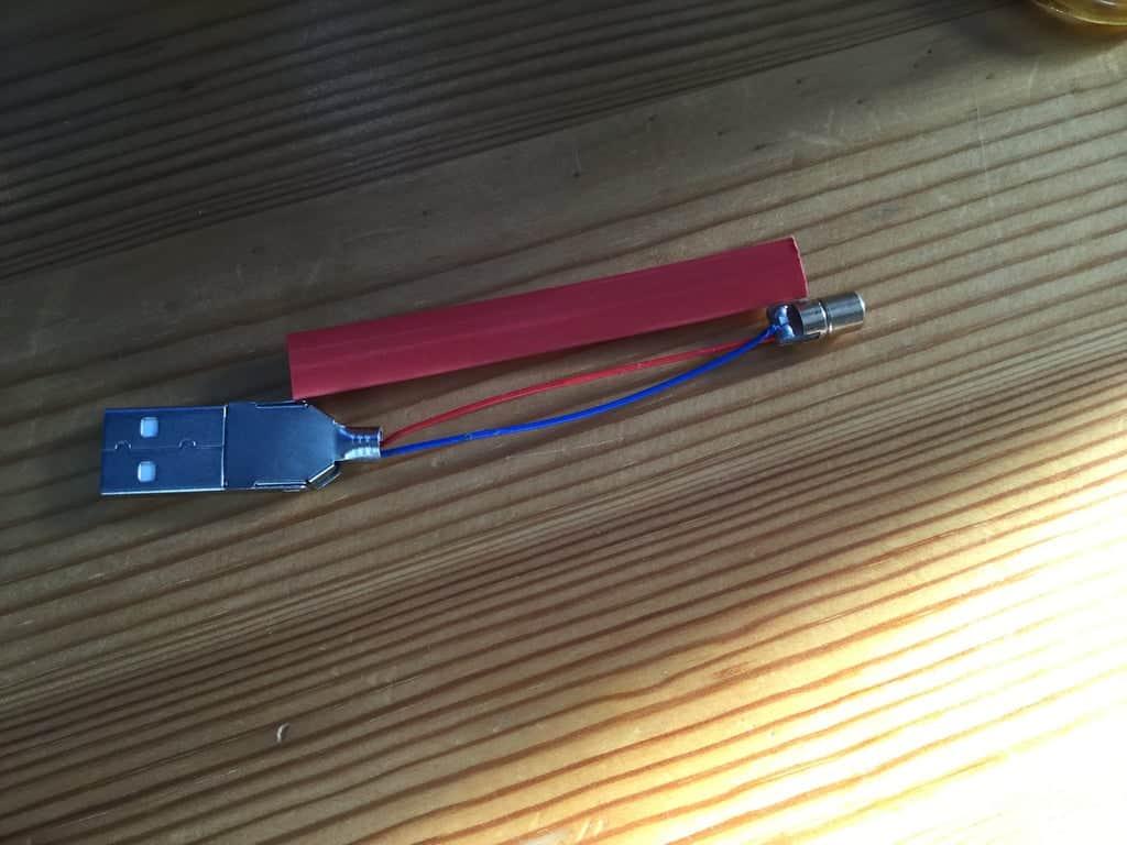 DIY USB Laser Pointer